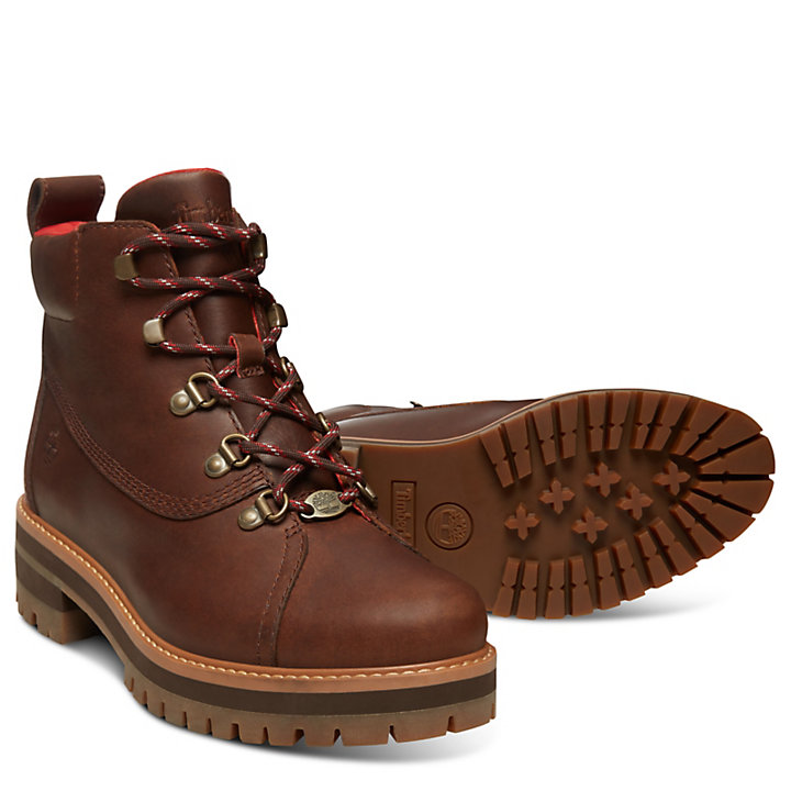 Courmayeur Valley Hiking Boot for Women in Brown-