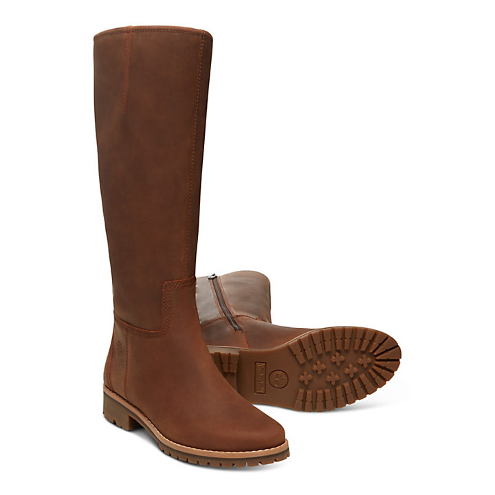 Main Hill Tall Boot for Women in Brown-
