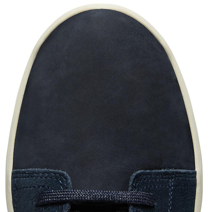 Zapatilla de Cuero FlyRoam™ para Hombre en Azul Marino-
