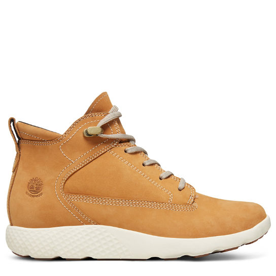 FlyRoam™ High-Top Sneakers voor Dames in Geel | Timberland