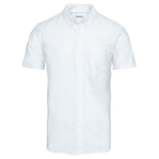 Pleasant River Oxford Shirt hombre  Blanco | Timberland