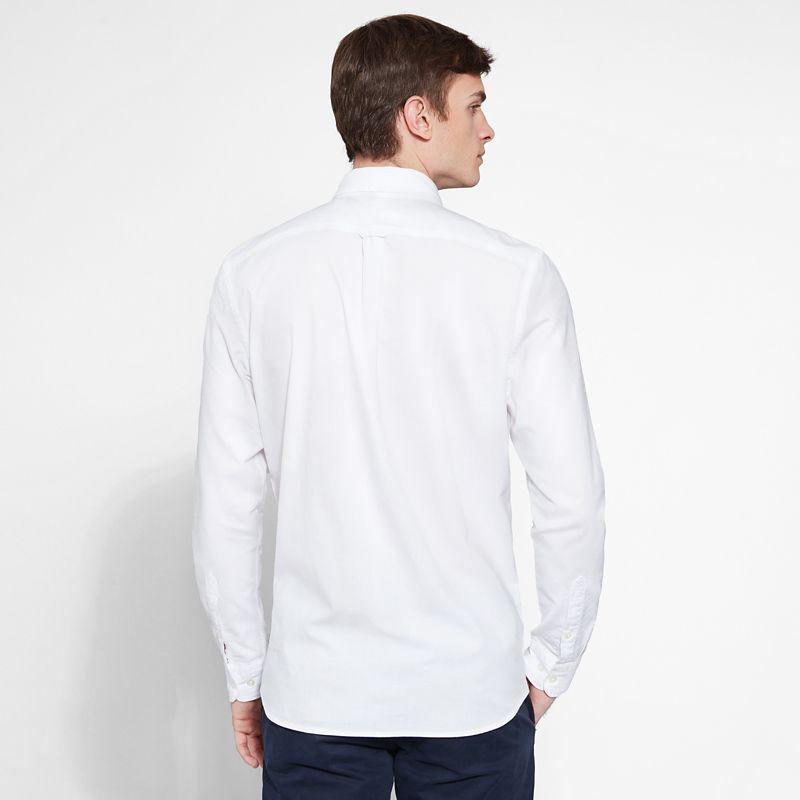 Timberland - pleasant river shirt weiß - 3