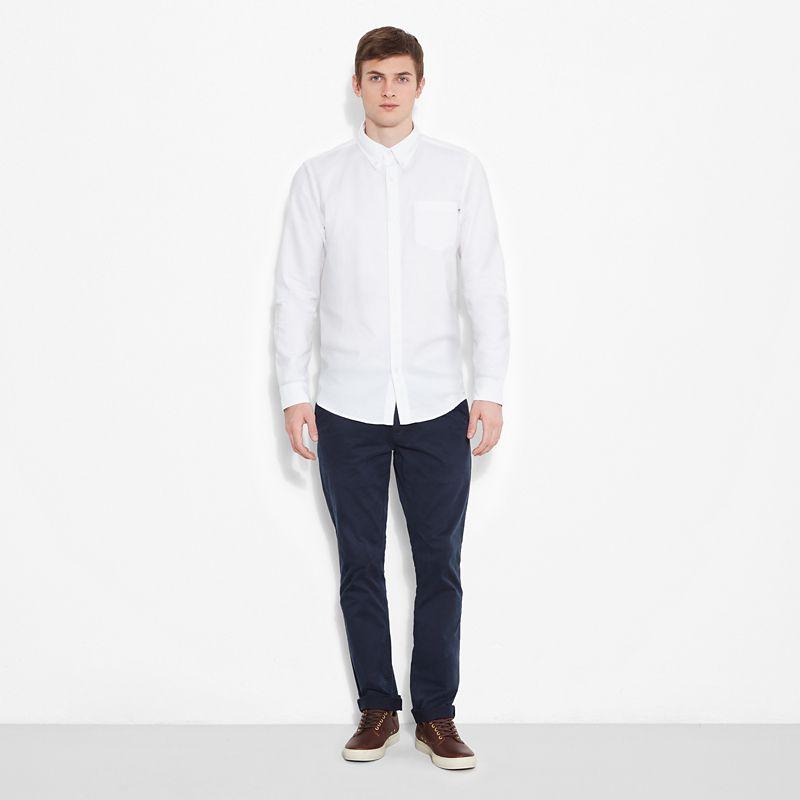 Timberland - pleasant river shirt weiß - 4