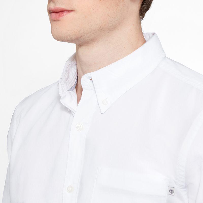 Timberland - pleasant river shirt weiß - 5