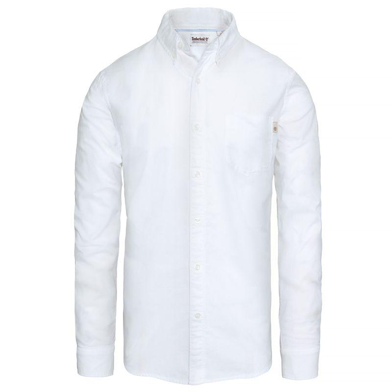 Timberland - pleasant river shirt weiß - 1