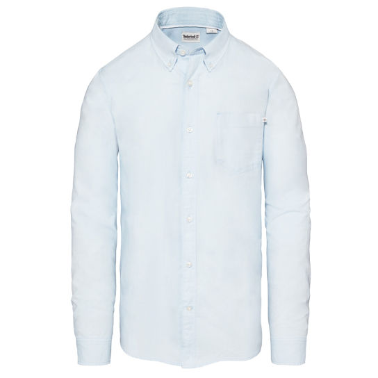 Men's Pleasant River Shirt Sky Blue | Timberland