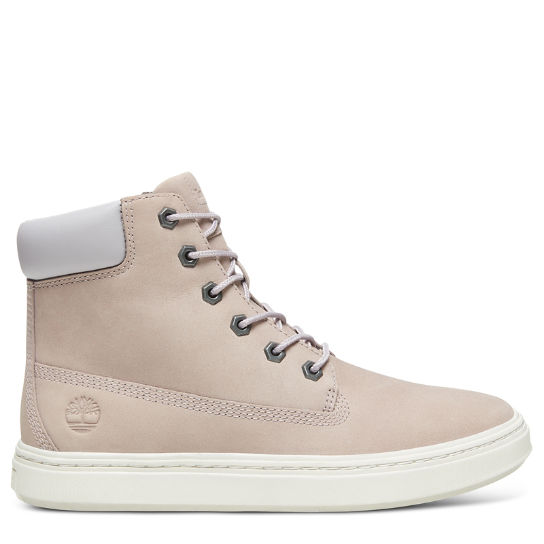 Londyn 6 Inch High-Top Sneaker for Women in Pale Grey | Timberland
