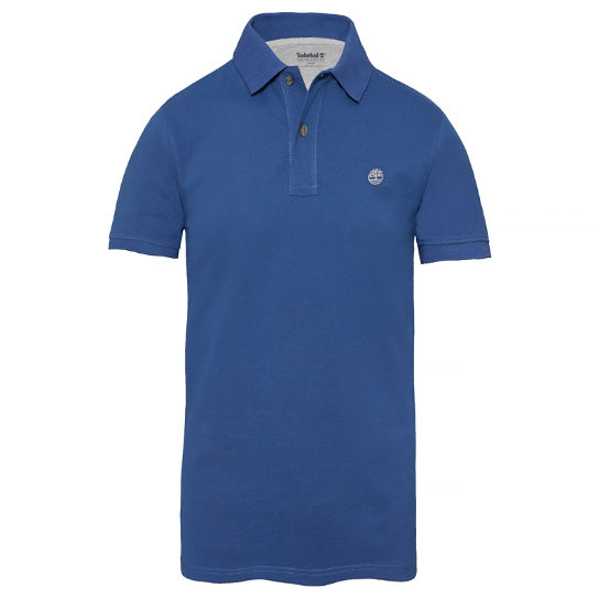 Millers River Polo Shirt Homme Bleu nuit | Timberland