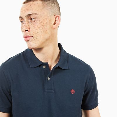 Millers+River+Polo+Shirt+for+Men+in+Navy