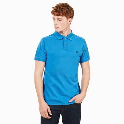 Millers+River+Polo+Shirt+for+Men+in+Blue