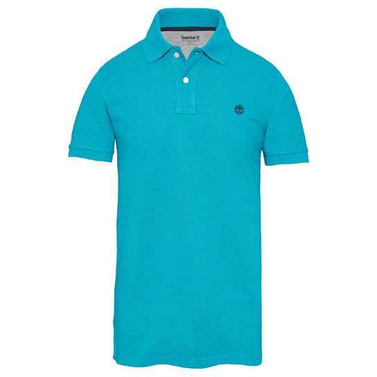 Men's Millers River Polo Shirt Turquoise | Timberland