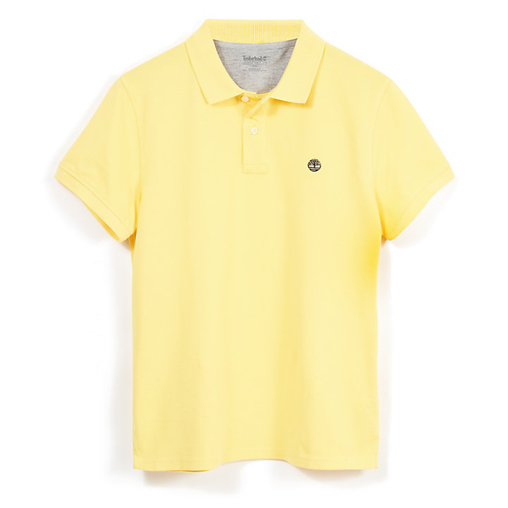 Millers River Polo Shirt for Men in Yellow-