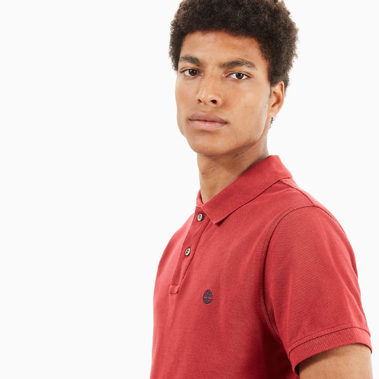 Millers River Polo Shirt for Men in Red | Timberland