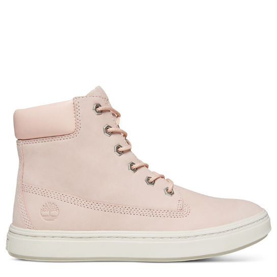 Londyn 6 Inch High-Top Sneaker for Women in Pale Pink | Timberland