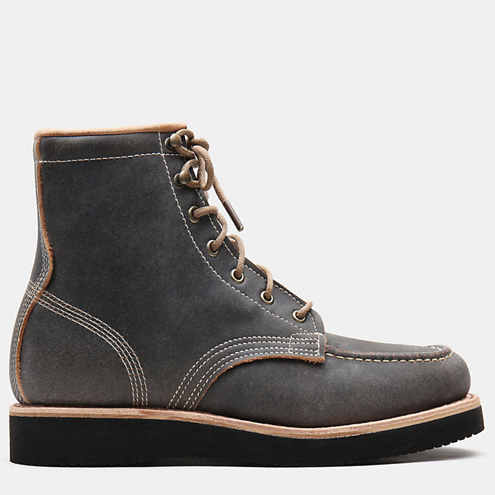 Bottine Moc Toe American Craft pour homme en noir-