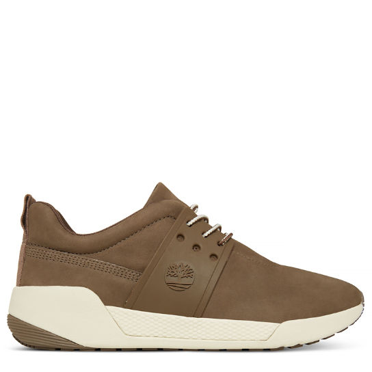 Kiri Up Leather Sneaker for Women in Brown | Timberland