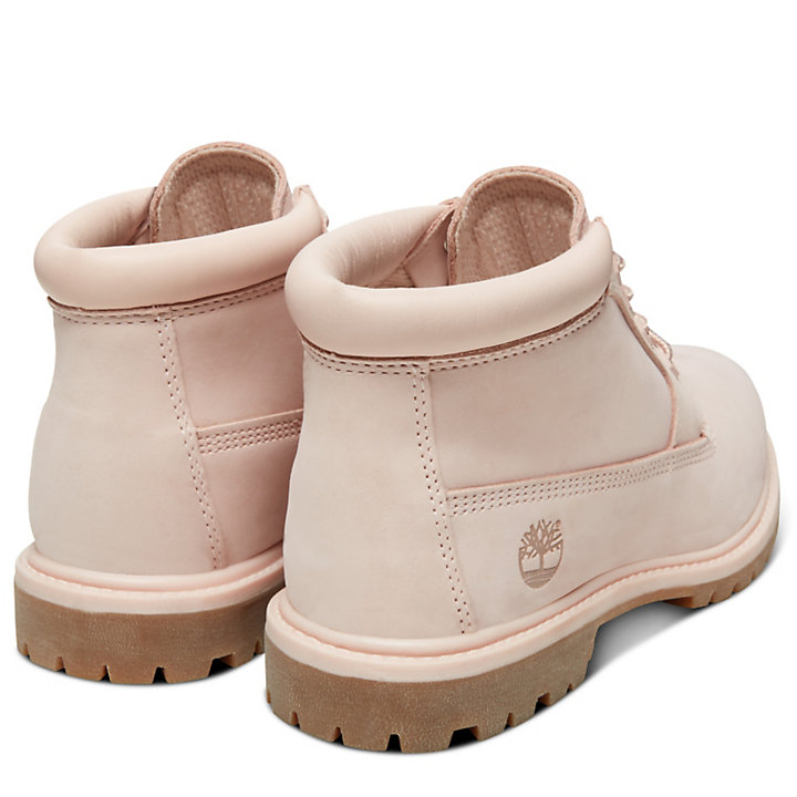 Nellie Double Chukka for Women in Pale Pink-