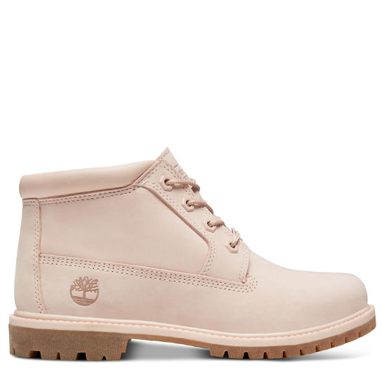 Nellie Double Chukka for Women in Pale Pink | Timberland