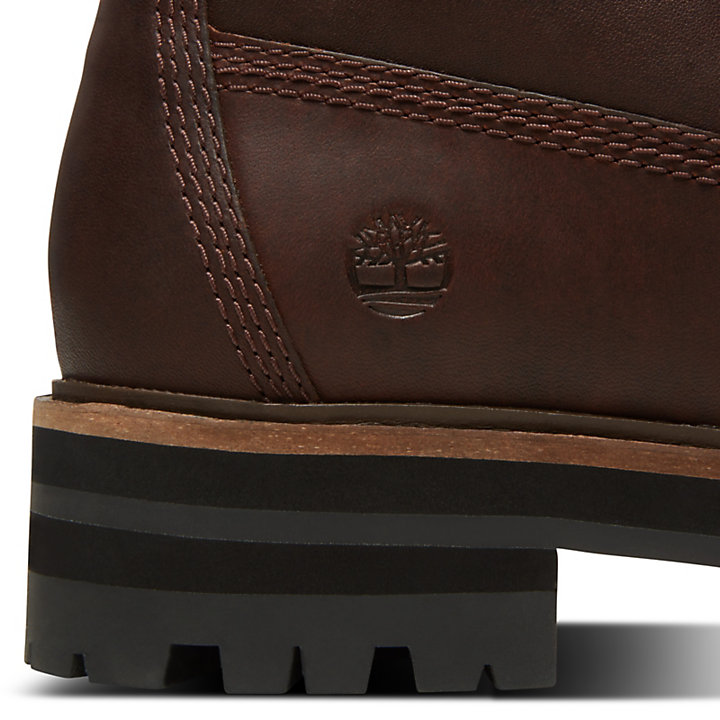 London Square 6 Inch Boot for Women in Brown-