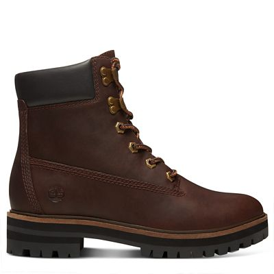 6-Inch+Boot+London+Square+pour+femme+en+marron