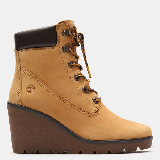 Paris Height 6 Inch Boot voor Dames in geel | Timberland