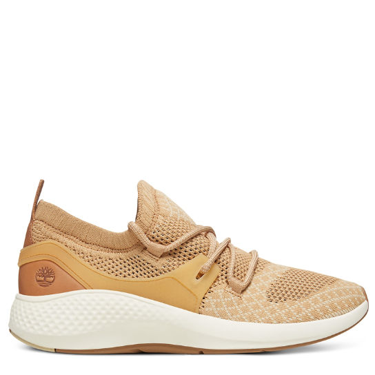 Flyroam™ Go Knit Oxford Schoen voor Heren in Beige | Timberland