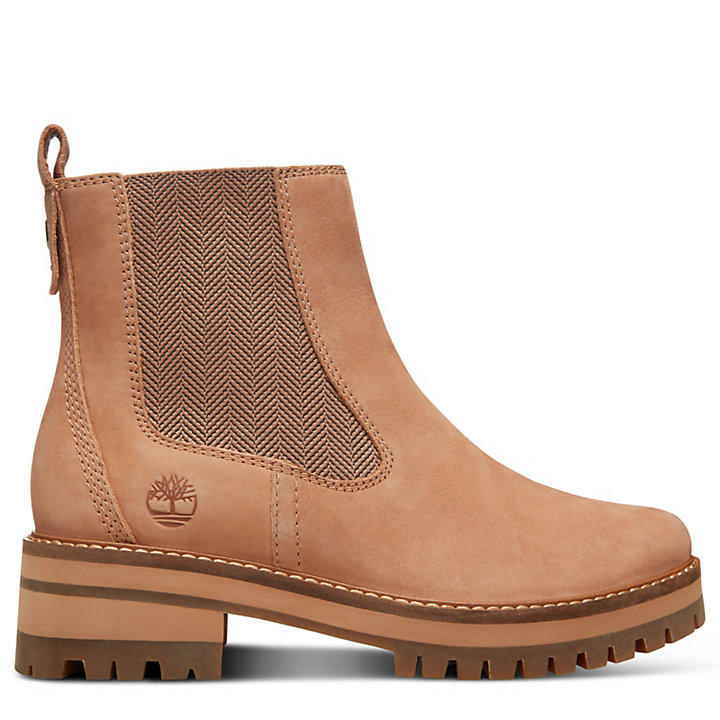 680135ed44c2a Courmayeur Valley Chelsea Boot for Women in Beige | Timberland