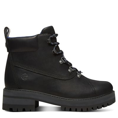 Courmayeur+Valley+Hiking+Boot+for+Women+in+Black
