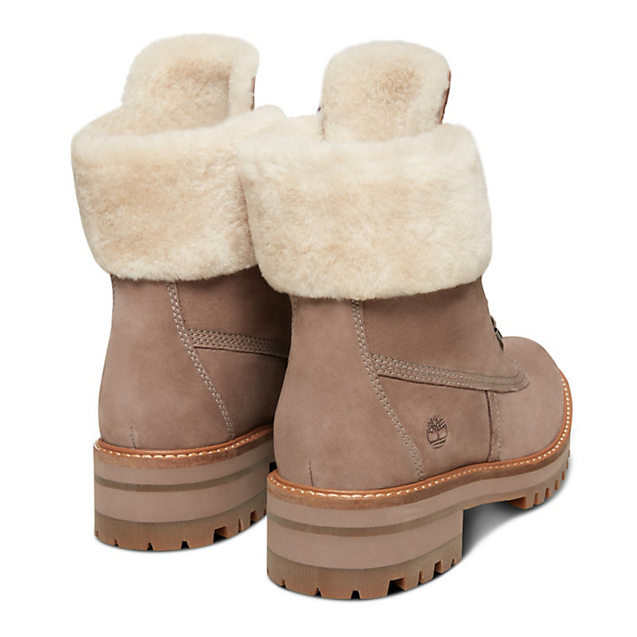 Courmayeur Valley Shearling Boot for Women in Taupe-