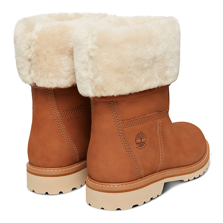 Chamonix Valley Shearling Boot for Women in Rust-