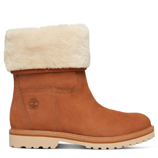 Chamonix Valley Shearling Boot for Women in Rust | Timberland