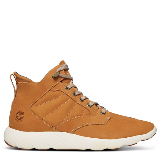 FlyRoam™ High-Top Herrensneaker in Gelb | Timberland