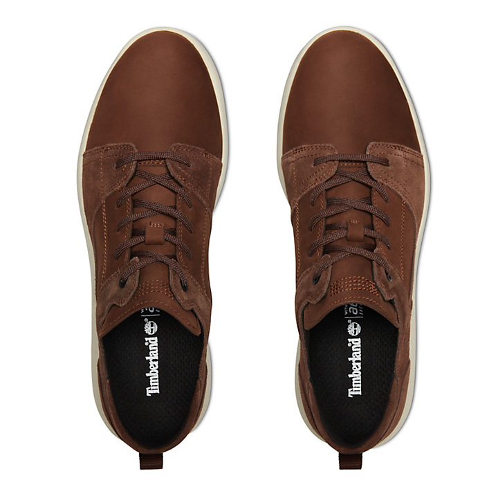 Baskets en cuir Flyroam™ pour homme en marron-