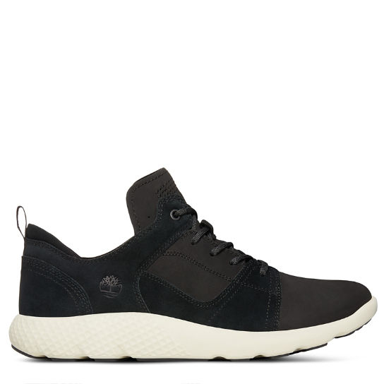 FlyRoam™ Leather Sneaker voor Heren in Zwart | Timberland