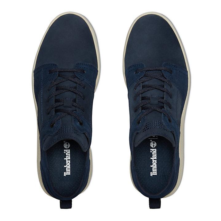 FlyRoam™ Leather Sneaker for Men in Navy-