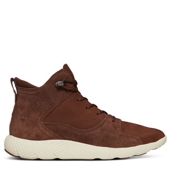 FlyRoam™ High-Top Sneakers voor Heren in Bruin | Timberland