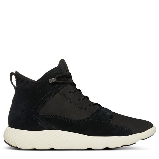 FlyRoam™ High-Top Herrensneaker in Schwarz | Timberland