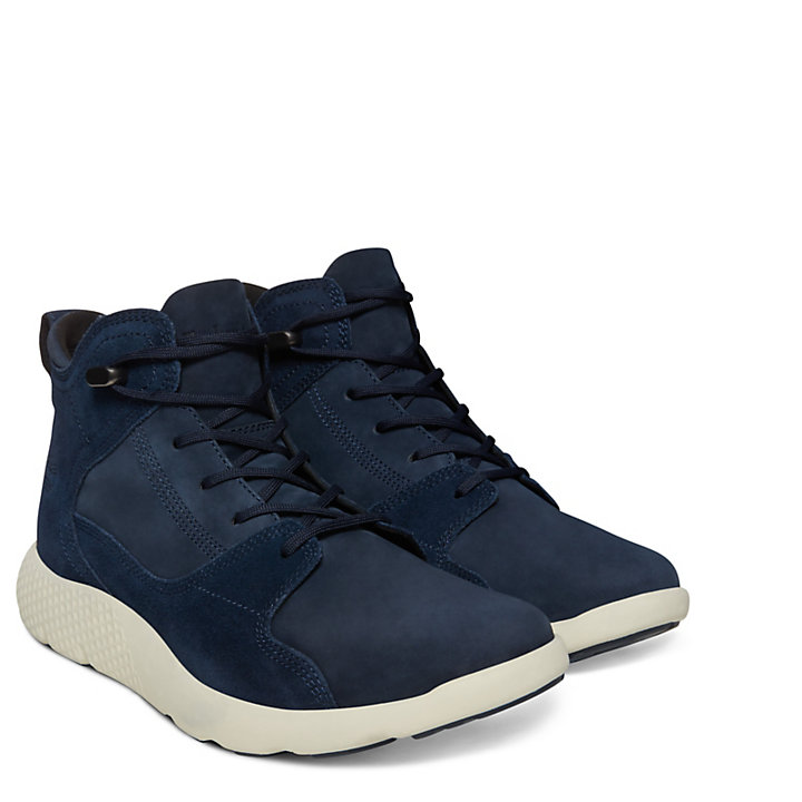 FlyRoam™ High-Top Herrensneaker in Navyblau-
