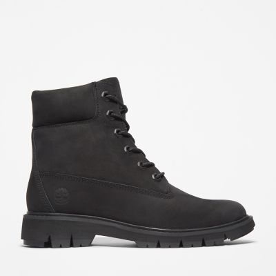 Lucia+Way+6+Inch+Boot+voor+Dames+in+zwart
