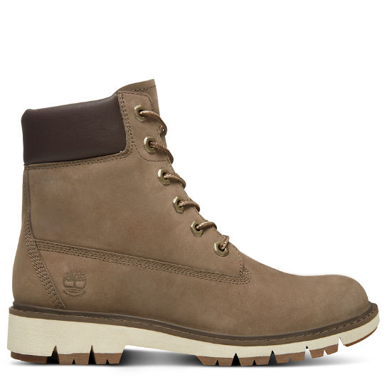Lucia Way 6 Inch Boot for Women in Greige | Timberland