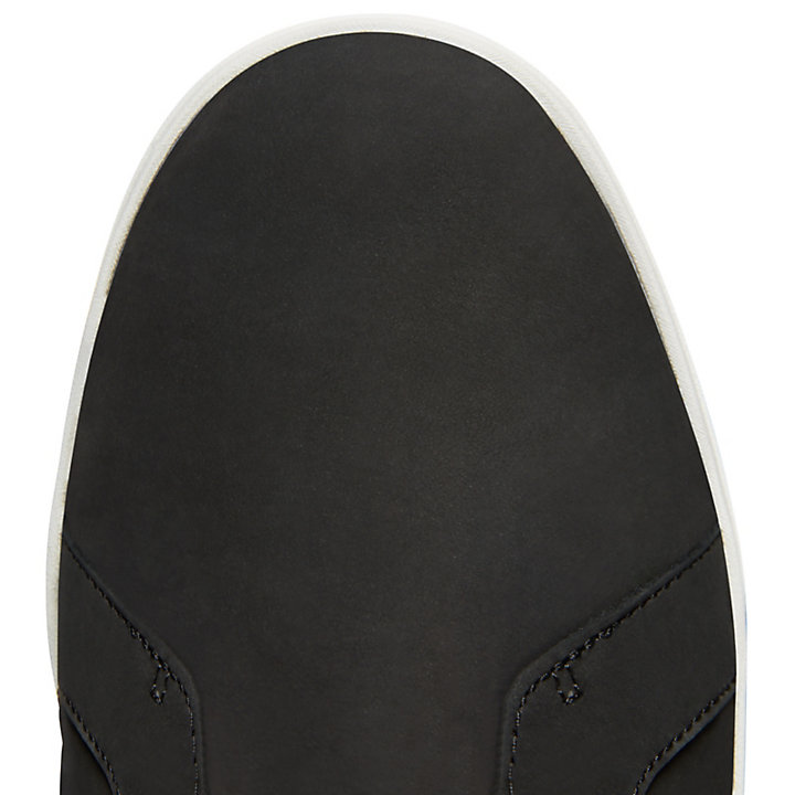 Davis Square Leather Chukka for Men in Black-
