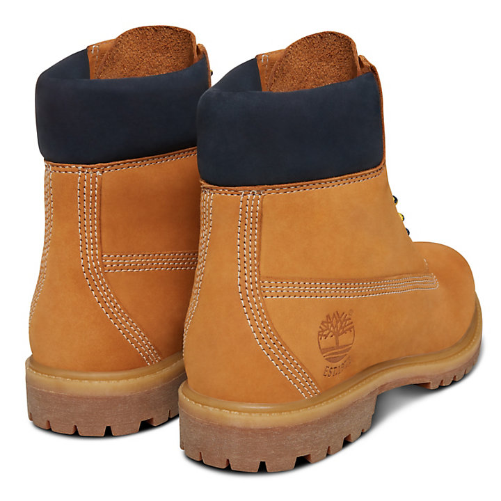 45th Anniversary 6 Inch Boot for Women in Yellow/Sapphire-