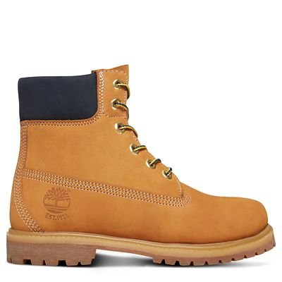 45th+Anniversary+6+Inch+Boot+for+Women+in+Yellow%2FSapphire
