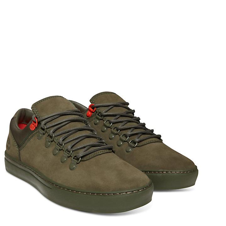 Adventure 2.0 Alpine Nubuk-Oxfordschuhe in Braun-