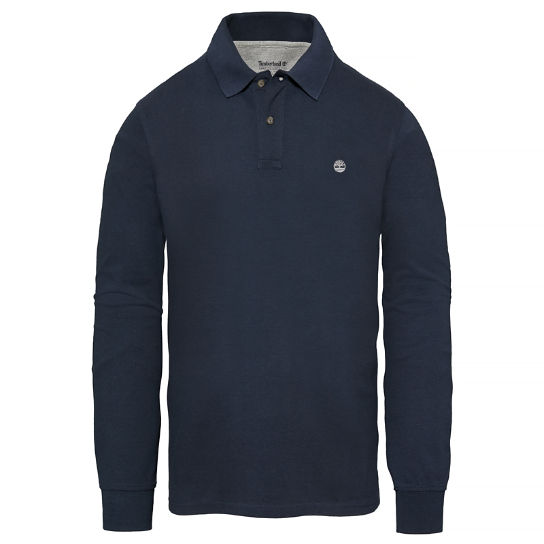 Millers River Polo Shirt Blu notte Uomo | Timberland