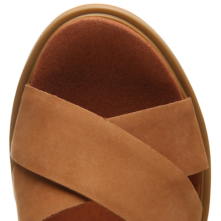 Violet Marsh Sandal for Women in Light Brown-