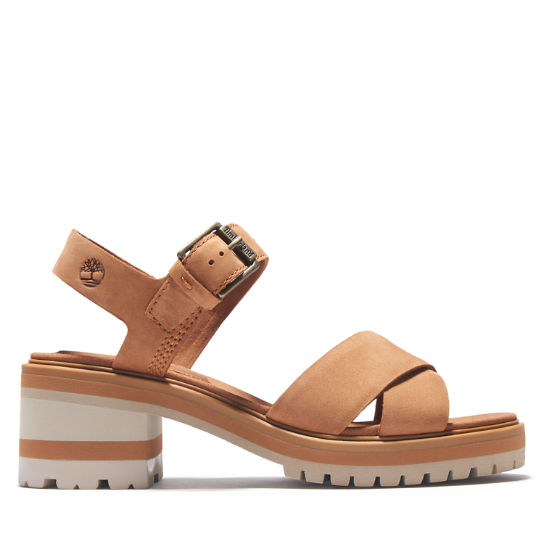 Violet Marsh Sandal for Women in Light Brown | Timberland