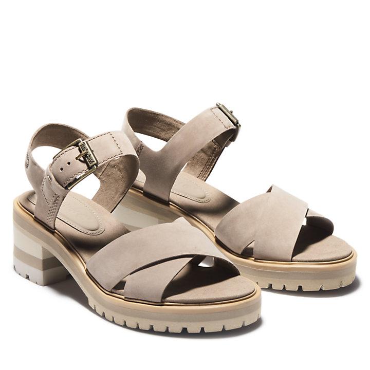 Sandalo da Donna Violet Marsh Grigio-Marrone-