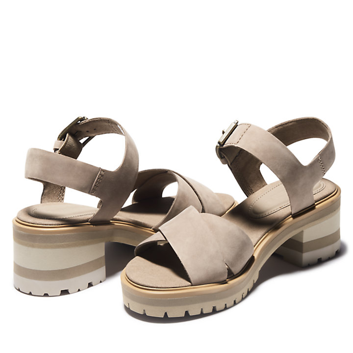 Violet Marsh Sandal for Women in Taupe-