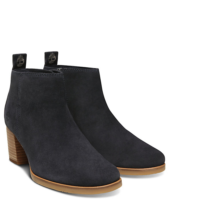 Eleonor Street Ankle Boot voor Dames in Marineblauw-